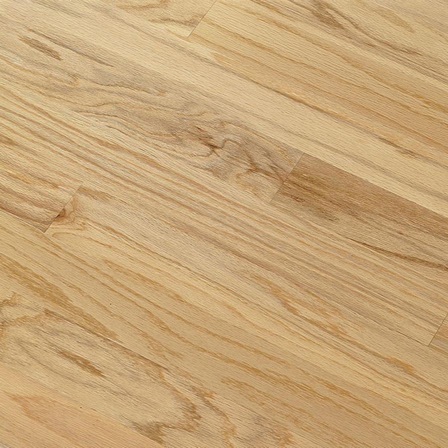 Shop bruce hillden plank 7 in w prefinished oak engineered for Prefinished wood flooring