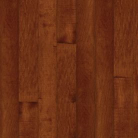 Bruce Kennedale Strip 2.25-in W Prefinished Maple 3/4-in Solid Hardwood Flooring (Cherry)