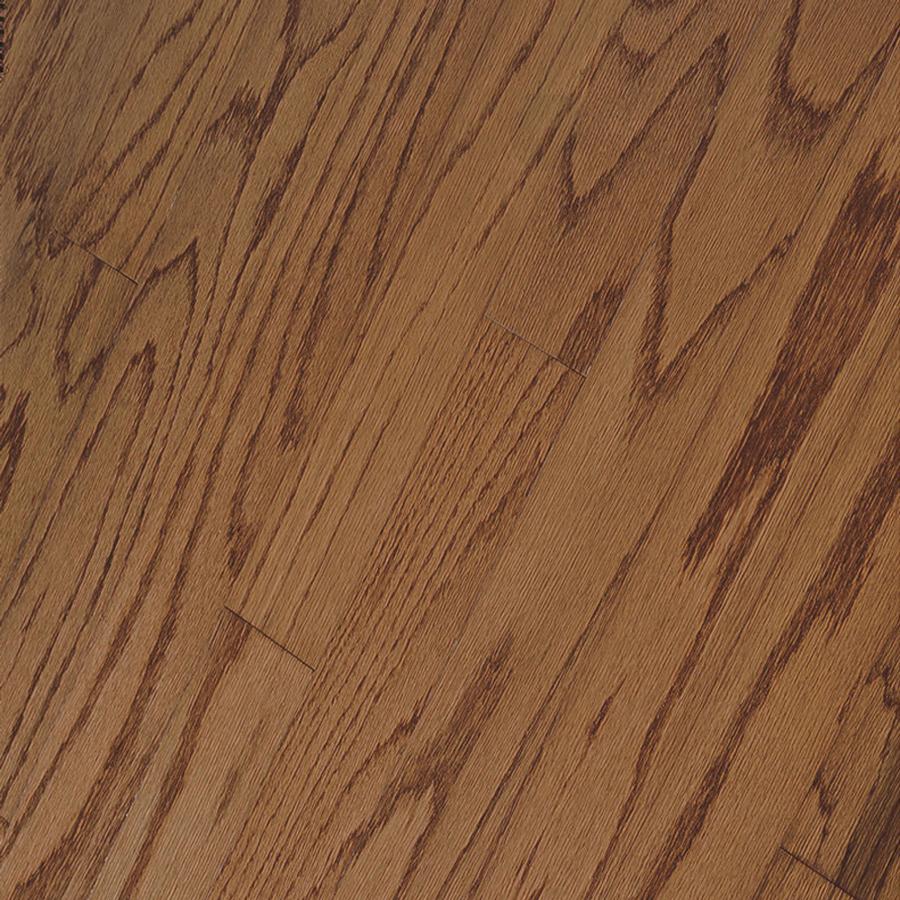 Shop bruce hillden strip w prefinished oak for Prefinished hardwood flooring
