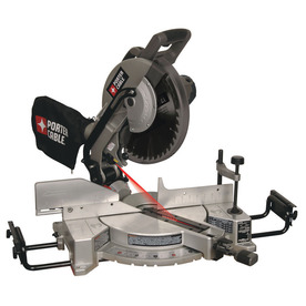 PORTER-CABLE 12-in 15-Amp  Compound Laser Miter Saw