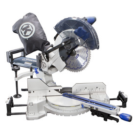 Kobalt 10-in 15-Amp Single Bevel Sliding Compound Laser Miter Saw