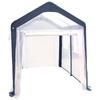 SPRING GARDENER 10-ft L x 8-ft W x 8-ft H Metal Poly Sheeting Greenhouse