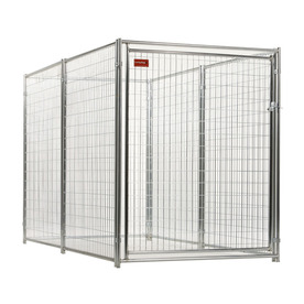 Lucky Dog 10-ft x 5-ft x 6-ft Outdoor Dog Kennel Preassembled Kit