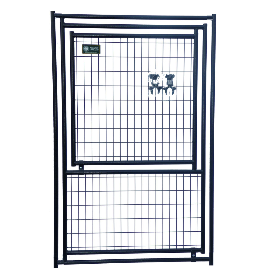 Shop AKC 4 Ft X 6 Ft Outdoor Dog Kennel Gates At