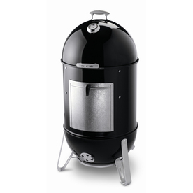 Weber 22-in Smokey Mountain Cooker 48.5-in H x 23-in W 726-sq in Porcelain-Enameled Charcoal Vertical Smoker
