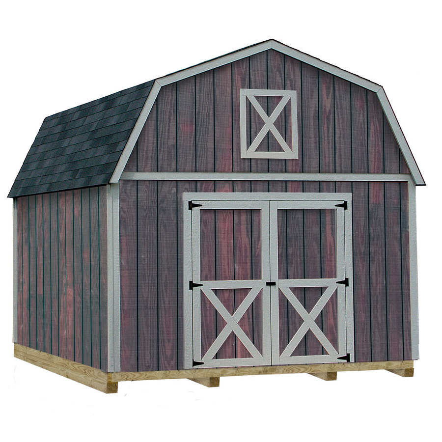 barns denver gambrel engineered wood storage shed common 12 ft x 20 ft
