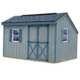 Shop best barns aspen saltbox engineered wood storage shed for Saltbox storage shed