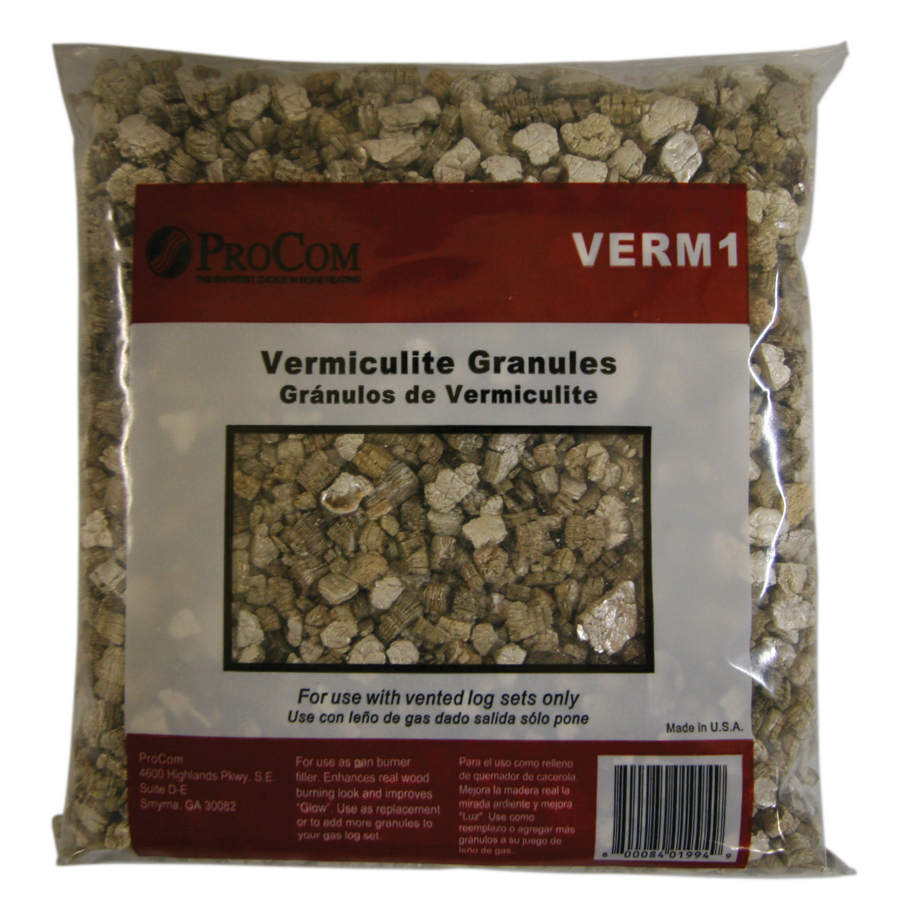 Shop Procom Vermiculite For Vented Gas Logs At