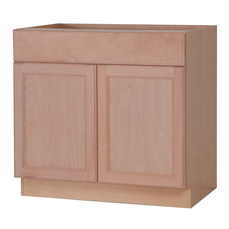 Shop style selections 36 in w x 34 5 in h x 24 6 in d - Woodcraft unfinished kitchen cabinets ...