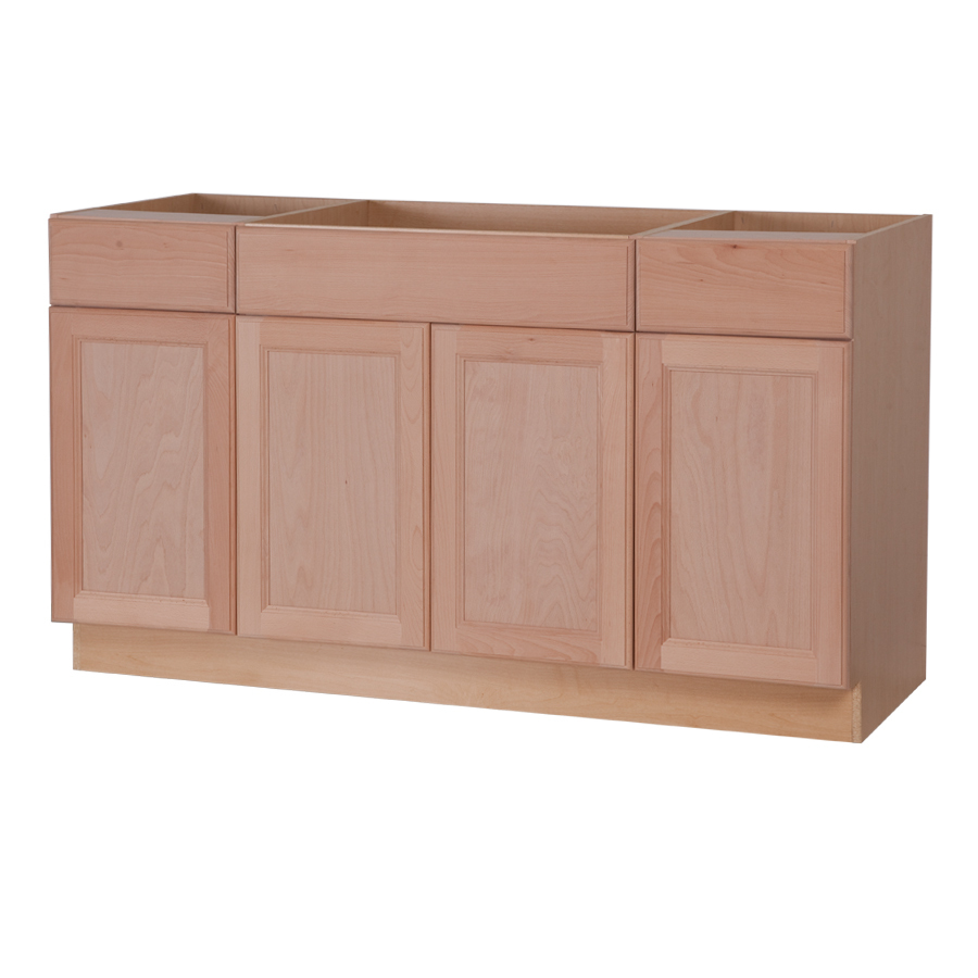 Lowes Kitchen Cabinets Unfinished Shop Project Source 36 In W X 12 In H X 12 In D Unfinished