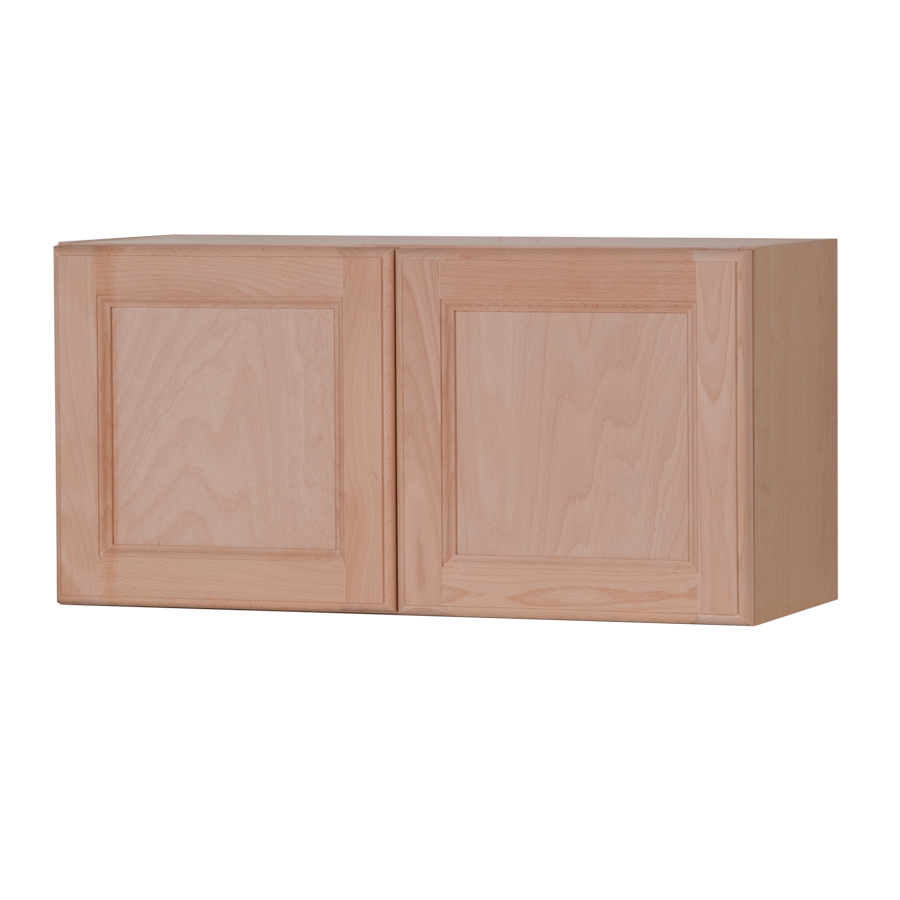 12 6 In D Unfinished Double Door Kitchen Wall Cabinet At