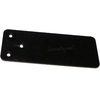 CounterBalance CounterPlate 0.1875-in x 3.75-in x 9.75-in Black Countertop Support Brackets