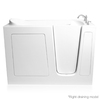 ARIEL 60-in L x 30-in W x 38-in H White Gelcoat and Fiberglass Rectangular Walk-in Air Bath