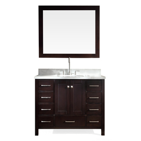 asian singles in lowes Shop allen + roth hagen 36-in x 21-in espresso undermount single sink bathroom vanity with engineered stone top at lowes single sink asian pinterest coffee.