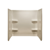 Style Selections Acrylic Bathtub Wall Surround (Common: 30-in x 54-in; Actual: 59-in x 30-in x 54-in)