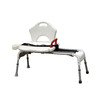 Drive Medical White Plastic Freestanding Transfer Bench