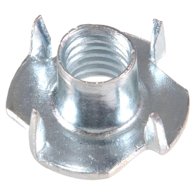 The Hillman Group 32-Count 1/4-in Zinc-Plated Standard (SAE) 4-Prong Tee Nuts
