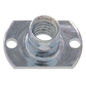 The Hillman Group 8-Count 1/4-in Zinc-Plated Standard (SAE) Rectangular Tee Nuts