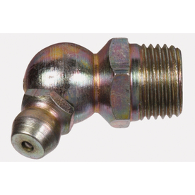 The Hillman Group 1/8-27 45-Degree Button Head Parallel Grease Fitting