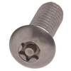 The Hillman Group 5-Count 1/4-In x 1-in Stainless Steel Torx-Drive Interior/Exterior Security Screws
