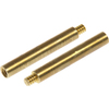 The Hillman Group 10-Pack Brass Lamp Key Extension