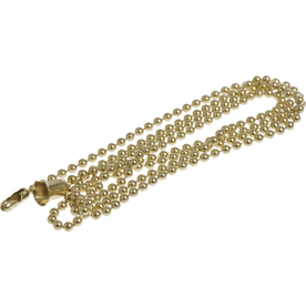 The Hillman Group 3-Pack Brass Plated Metal Pull Chains