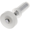 The Hillman Group 6-Pack 0.283-in Spring Loaded Bifold Closet Door Guide Wheel