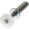 The Hillman Group 5-Pack 0.283-in Spring Loaded Bifold Closet Door Guide Wheel