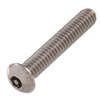 The Hillman Group 5-Count 1/4-In x 1-in Stainless Steel Hex Pin-Drive Interior/Exterior Security Screws
