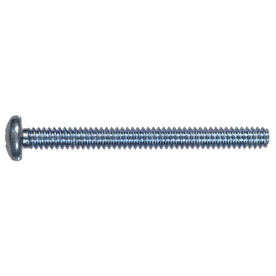 The Hillman Group 100-Count #14 1/4-in- 20 x 1-1/2-in Zinc-Plated Phillips-Drive Standard (SAE) Machine Screws