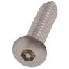 The Hillman Group 10-Count #8 x 1.25-in Stainless Steel Hex Pin-Drive Interior/Exterior Security Screws