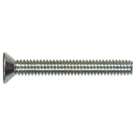 The Hillman Group 100-Count #6-32 x 1-in Flat-Head Zinc-Plated Standard (SAE) Machine Screws