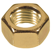 The Hillman Group 100-Count 1/4-in-20 Brass Standard (SAE) Hex Nuts