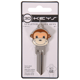 The Hillman Group 3D Keys