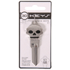 The Hillman Group #68 Key 3D Silver Skull
