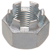 The Hillman Group 10-Count 1-1/4-in Zinc-Plated Standard (SAE) Castle Nuts