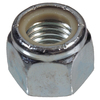 The Hillman Group 10-Count 1-1/4-in Zinc-Plated Standard (SAE) Nylon Insert Lock Nuts