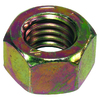 The Hillman Group 10-Count 1-1/8-in-12 Yellow Zinc Standard (SAE) Hex Nuts