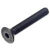 The Hillman Group 100-Count 1/4-in-20 x 1-1/2-in Flat-Head Plain Steel Allen-Drive Socket Cap Screw