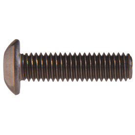 The Hillman Group 50-Count #14 to 20 x 1-in Button-Head Plain Steel Allen-Drive Socket Cap Screws