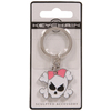 The Hillman Group Girly Skull 3D Key Chain