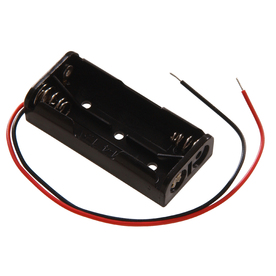 The Hillman Group 2-AAA Plastic Battery Holder