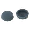 The Hillman Group 1/2-in x 3/16-in Grey Plastic End Cap