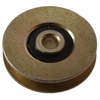 The Hillman Group 10-Pack 1-in Flat Nylon Ball Bearing Tub and Shower Door Rollers