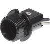 The Hillman Group 75-Watt Black Hard-Wired Lamp Socket