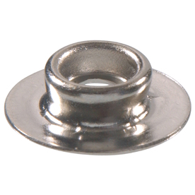 The Hillman Group 20-Pack 1/4-in Nickel Plated Brass Grommets