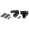 The Hillman Group 2-Pack 1/2-in x 1-1/2-in Black Cabinet Hinges