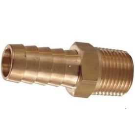 The Hillman Group 3-Pack 3/8-in x 1/2-in Threaded Barb x MIP Adapter Fittings