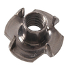 The Hillman Group 15-Count 3/8-in Stainless Steel Standard (SAE) 4-Prong Tee Nuts