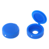 The Hillman Group 1/2-in x 1-in Blue Plastic End Cap